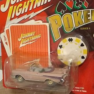 Johnny lightning Poker Series II 57 Chevy Bel Air